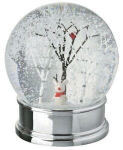 Festive Mouse Snow Globe