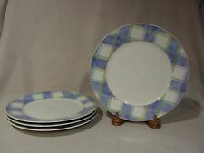 "Studio Nova Mikasa ""Parisian Cafe"" TPC24 Dinner Plates - Set of 4"