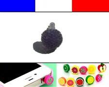 Cache anti-poussière jack universel iphone capuchon bouchon Boule strass 4