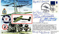 Battle of Britain Signed 3 Pilots & 3 RAAF's all involved Battle of Britain   Th
