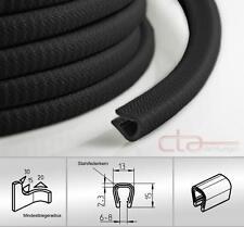 5 m Dichtungsprofil Dichtprofil Kantenschutz PVC  schwarz KB 5 - 7 mm 1C10-06