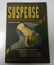 1951 SUSPENSE High-Tension Stories SPRING FVF Science Fiction CRIME Ray Bradbury