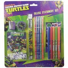 Teenage Mutant Ninja Turtles Deluxe Juego De Papelería Regalo Sin Estrenar