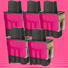 5P LC 41 MAGENTA INK CARTIRDGE FOR BROTHER 1840C 2440C
