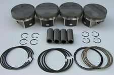 JDM NIPPON RACING FLOATING PRC ITR PISTONS TYPE R K24 DC5 NPR Oversize 87.5mm