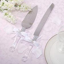 Wedding Anniversary Birthday Cake Knife Silver Blade Server, engrave yourself