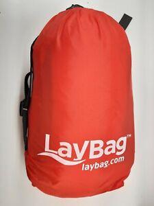 Laybag - Fast Folding Bag - Sleeping Camping Cot Lay Bag Inflatable Air Sack