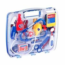 Childrens Medical Kit Doctor Nurse Set Dress Up Role Play Kit With Carrycase