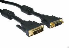 DVI-D 24+1 Male to Female Dual Link Extension Cable 2m