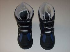 Arctic Cat Boys Extreme Weather Youth Shredder-6 Insulated Navy Boots Sz 11 New