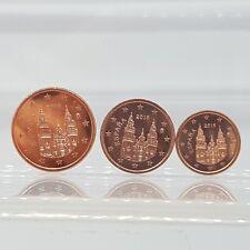 ESPAÑA 1, 2 y 5 céntimos 2016 - SIN CIRCULAR