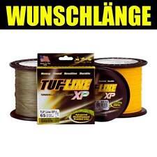 (0,17eur/m) TUF LINE Fil de pêche support métallique stable-XP 0,28 mm 16,8 kg jaune-par 25 m