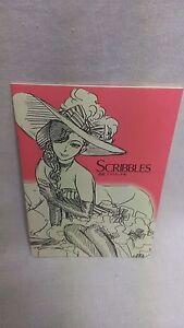 MORI KAORU SCRIBBLES Vol.1 Rough sketch  Art Book B6 16P