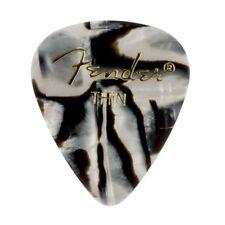 Fender 351 Premium Celluloid Guitar Picks - ZEBRA, THIN 144-Pack (1 Gross)
