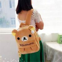 Cartoon San-X Rilakkuma Relax Bear Animal Kids Backpack Kindergarten School Bag