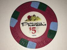 Pharaoh's orig. Paulson Club Denom $ 5 Pokerchips - Chips - Poker Jetons