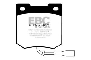 EBC Ultimax Front Brake Pads for Talbot Sunbeam 0.9 (79 > 81)