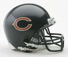 Chicago Bears replica mini Helmet from riddell, NFL casco de fútbol americano, 1:2,neu