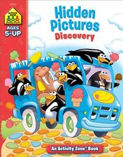 Hidden Pictures Discovery Activity Zone (Ages 5-Up) by School Zone Staff
