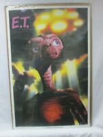 E.T. EXTRATERRESTRIAL MOVIE CHARACTER VINTAGE POSTER GARAGE 1982 CNG428
