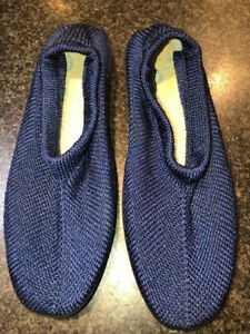 Plumex Step by Abouts - Blue Knit Shoes Size 6 (39)