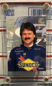 1997 SKYBOX JEFF FULLER PROFILE, #52, AUTOGRAPHED CARD, FREE SHIPPING