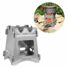 Outdoor Stainless Steel Wood Stove Portable Survival Wood Burning Camping Picnic