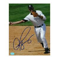 Alex Rodriguez signed New York Yankees 8x10 Photo (full sig)Beckett & Arod Holos
