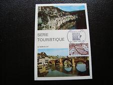 FRANCE - carte 1er jour 7/9/1974 (la vallee du lot) (cy43) french