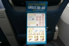 Vietnam Airlines A350-900 Safety Card - SUMMER SALE!