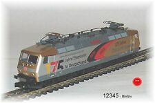 "Minitrix 12345 Electric Locomotive BR 120 DB AG "" 175 Years E # NEW BOXED"