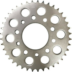 Parts Unlimited Rear Honda Sprocket - 40-Tooth Silver 1210-2144