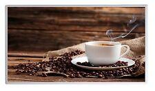 600W Fern Infrarotheizung Kaffee Bild Elektroheizung Überhitzungsschutz TÜV