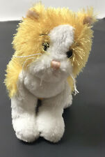 """Ganz Webkins 4"""" Orange & White Kitten Cat Plush Stuffed Animal"""