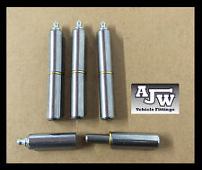 4 Lift Off Bullet Hinges 100mm Grease Nipple Weld On Carbon Steel Truck Trailer