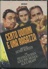 Cento uomini e una ragazza (1937) DVD