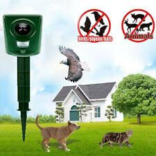 More details for ultrasonic battery cat dog repellent fox pest scarer deterrent repeller garden