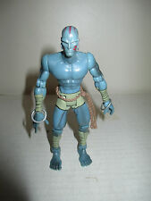 "1998 X-Men vs Street Fighter 5.25"" Grey Blue Dhalsim Figure Loose Capcom ToyBiz"