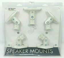 Vantage Point Satellite Series Speaker Mounts for Home Theater System 5-Pack.