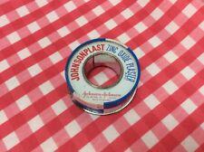 Vintage Johnsonplast Zinc Oxide Plaster Tin
