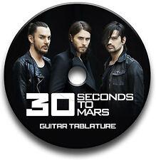 30 secondi per Mars Rock Chitarra schede tablature SONG BOOK CD software