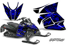 Arctic Cat Proclimb Procross Graphic Snowmobile Sled Wrap 12-16 NIGHTWOLF BLUE