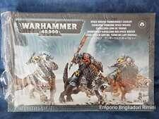 Games Workshop Warhammer 40k Space Wolves Thunderwolf Cavalry 3 models GW
