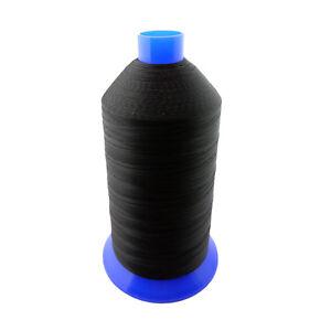 Black Bonded Nylon Upholstery Thread Size 92, Tex 90, 16 Oz. 4200 Yards