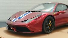 1/18 BBR Ferrari 458 Speciale Rosso Maranello 8 of 20