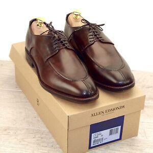 * NIB * $455 Allen Edmonds CROSBY Street 9 D Cigar * new Shoe Trees AE Bags