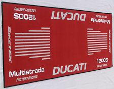 DUCATI Multistrada 1200S Garagen- Teppich-Tankmatte