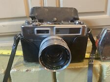 VINTAGE YASHICA ELECTRO 35 GSN CAMERA WITH 45MM LENS AND ORIGINAL CASE