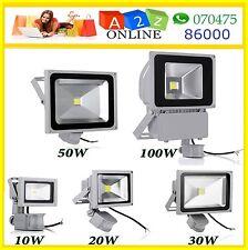 10W PIR Sensor LED Flood Light DC12V-Cool White