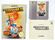 NES THE GOONIES II in OVP & mit Anleitung Nintendo PAL B NOE Guter Zustand